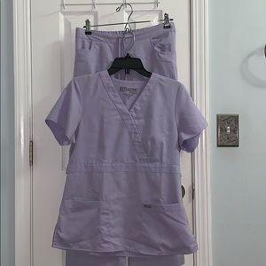 Lavender Grey's Anatomy Scrubs